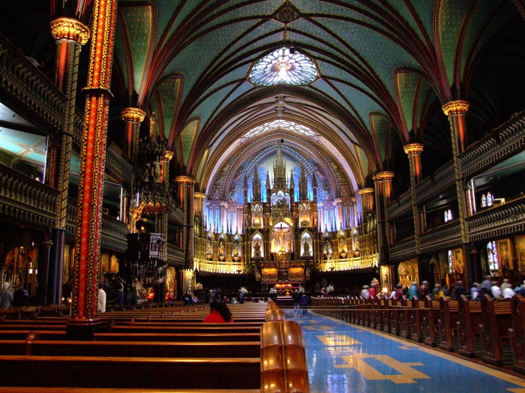 Basilica in Montreal